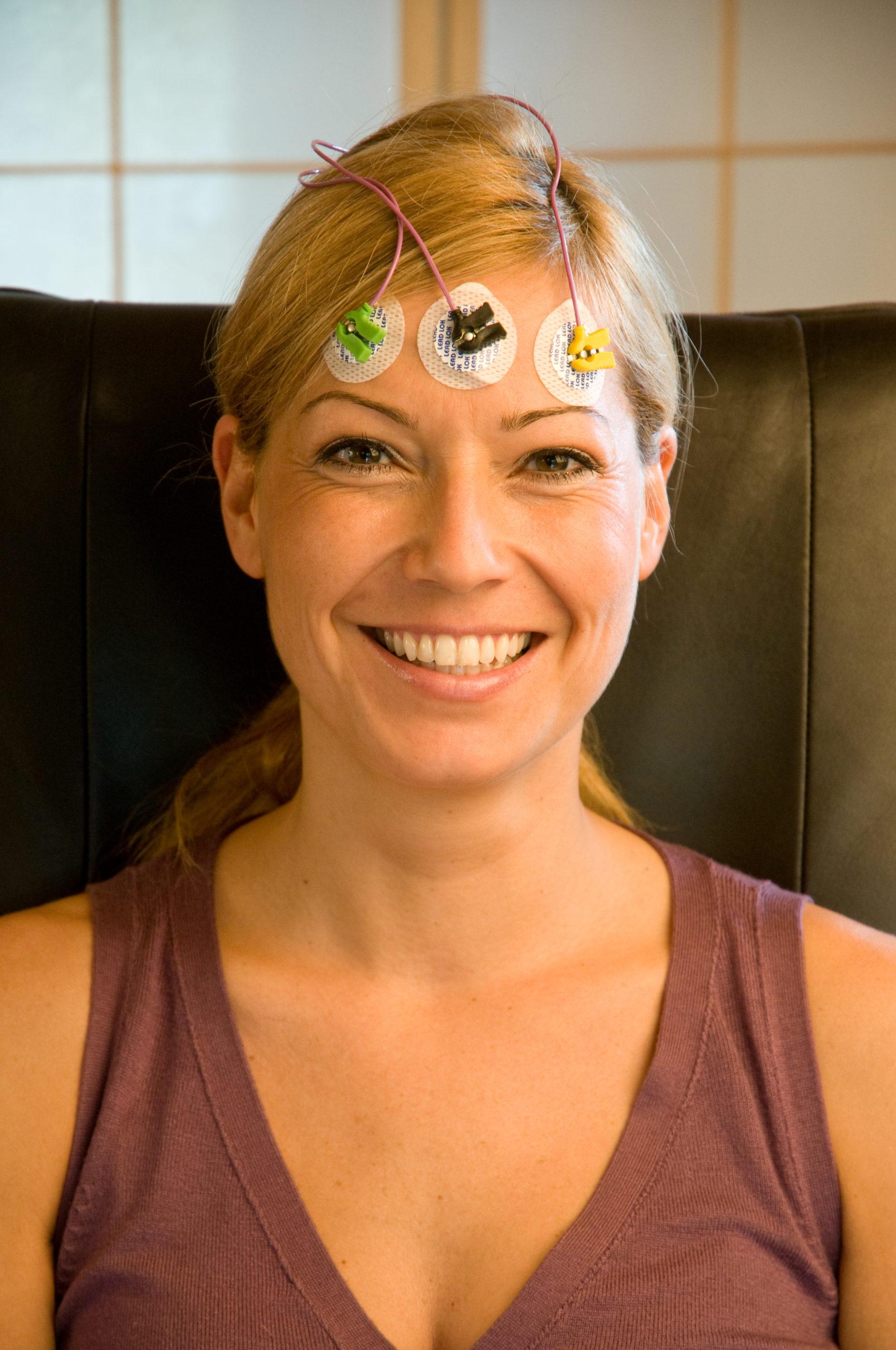 Biofeedback an der Stirnmuskulatur