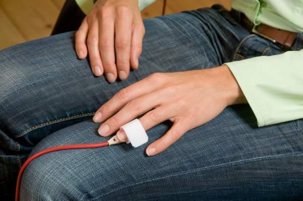 Hautleitwert messen und kontrollieren mittels Biofeedback