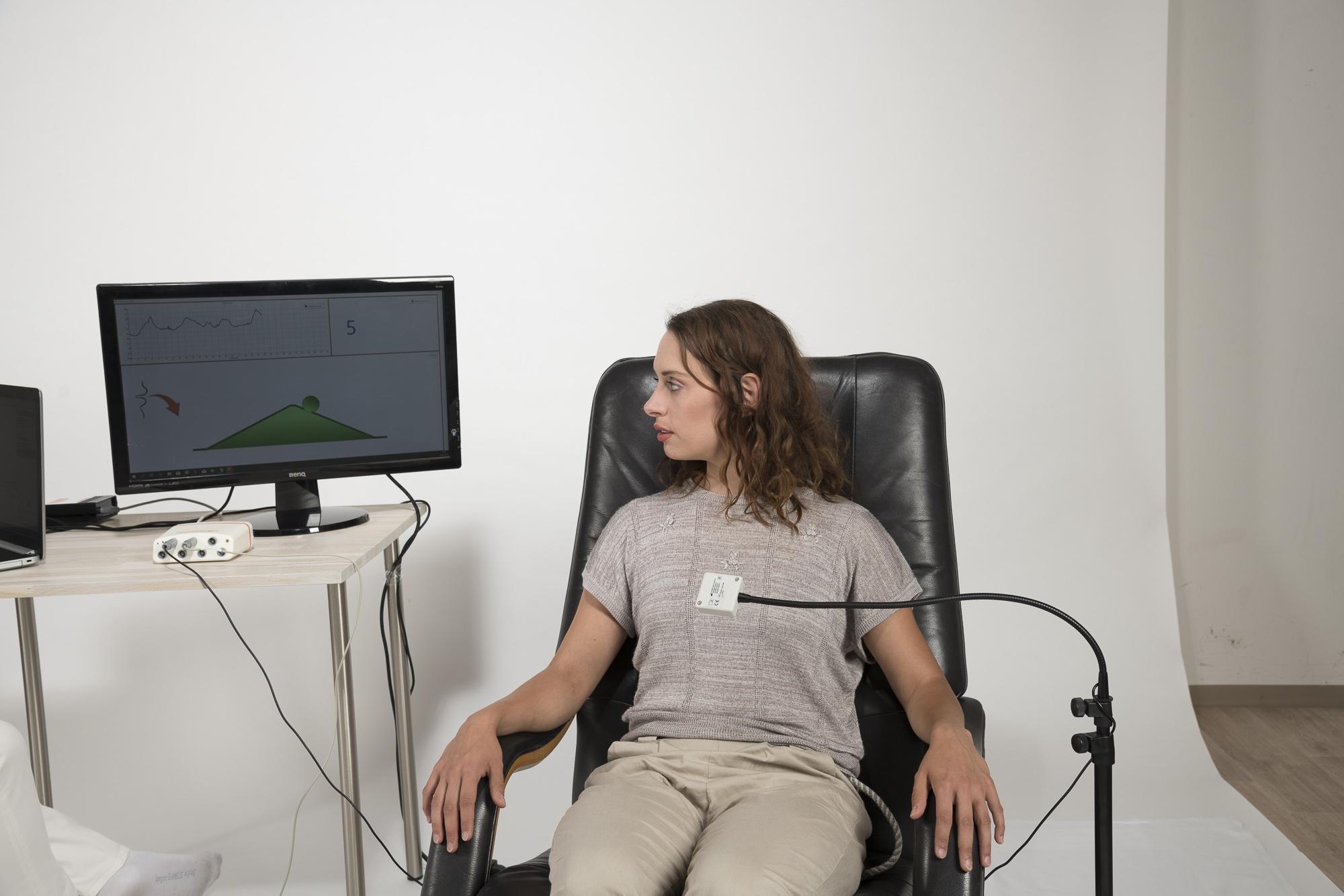 Messung von Atemparametern beim Biofeedback