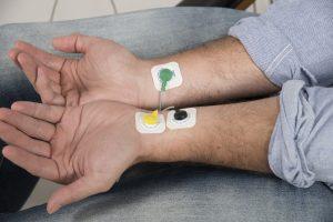 Ableitung eines EKG für die HRV